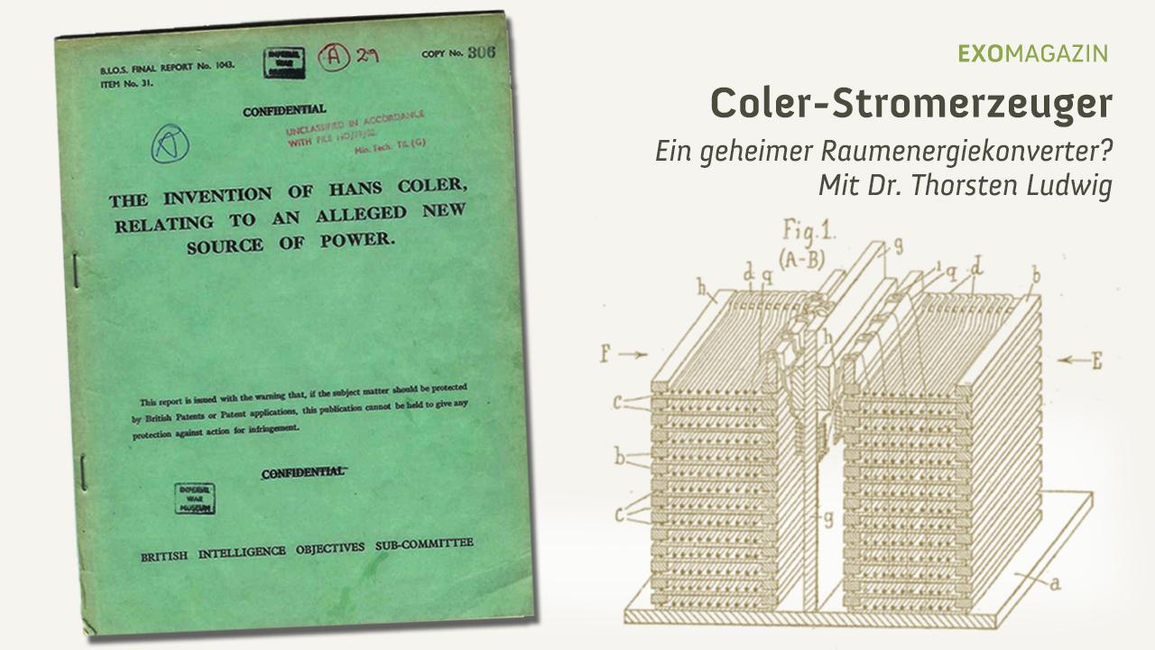 Der Coler-Stromerzeuger