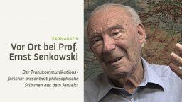 Vor Ort bei Jenseitsstimmen-Forscher Ernst Senkowski