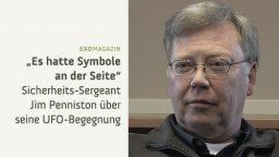 """""""Es hatte Symbole an der Seite"""" – Die UFO-Begegnung des James Penniston"""