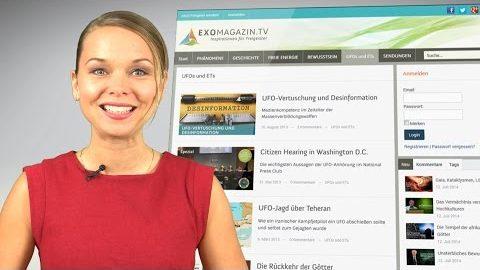 Herzlich willkommen bei ExoMagazin.tv