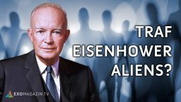 Traf US-Präsident Eisenhower Aliens?