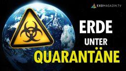 Erde unter Quarantäne