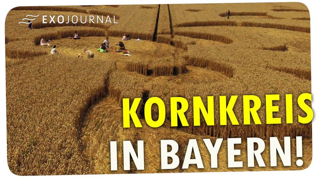 Kornkreis in Bayern Mammendorf YouTube