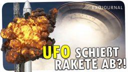 UFO schießt Rakete ab?!