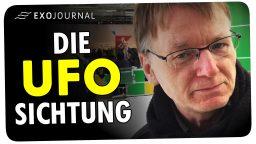 Die UFO-Sichtung des Radiomoderators Jörg Wagner | ExoJournal
