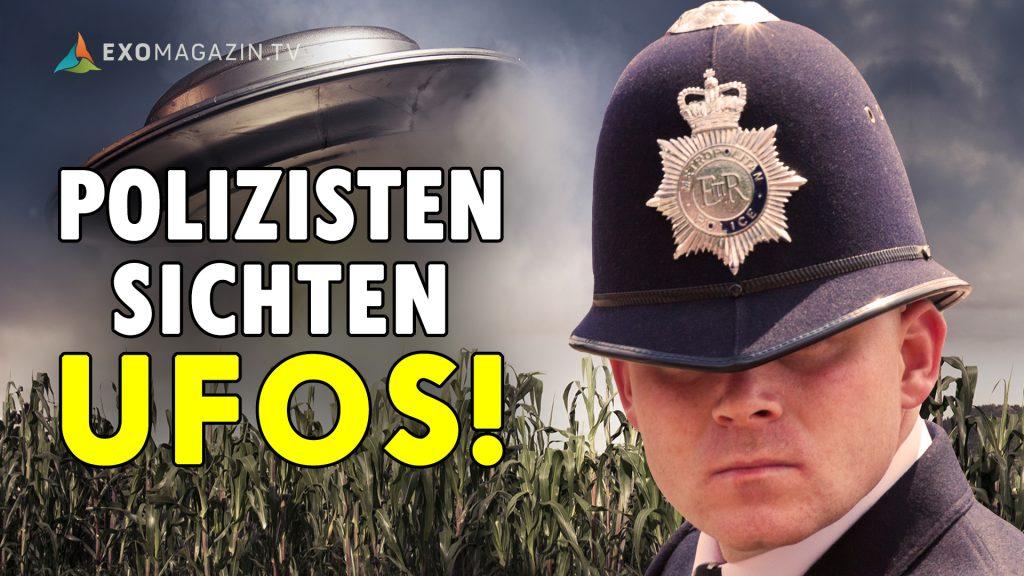 UFO-Sichtungen von Polizeibeamten - untersucht von einem Kriminalpolizisten