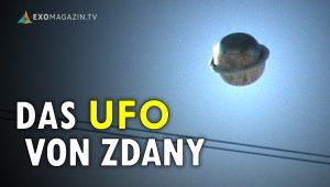 Der Fotobeweis? Das UFO von Zdany