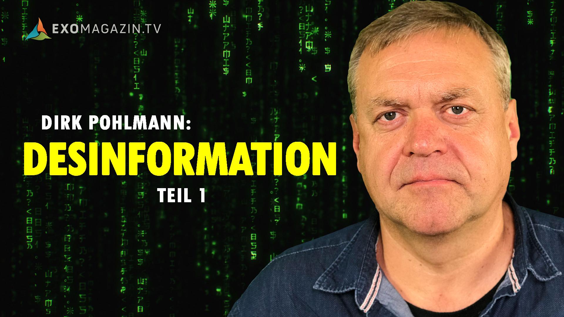 Desinformation (1): Das Spiel der Geheimdienste mit der Wahrheit - Dirk Pohlmann