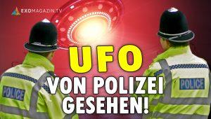 UFO von Polizei gesehen - Ein Beamter packt aus