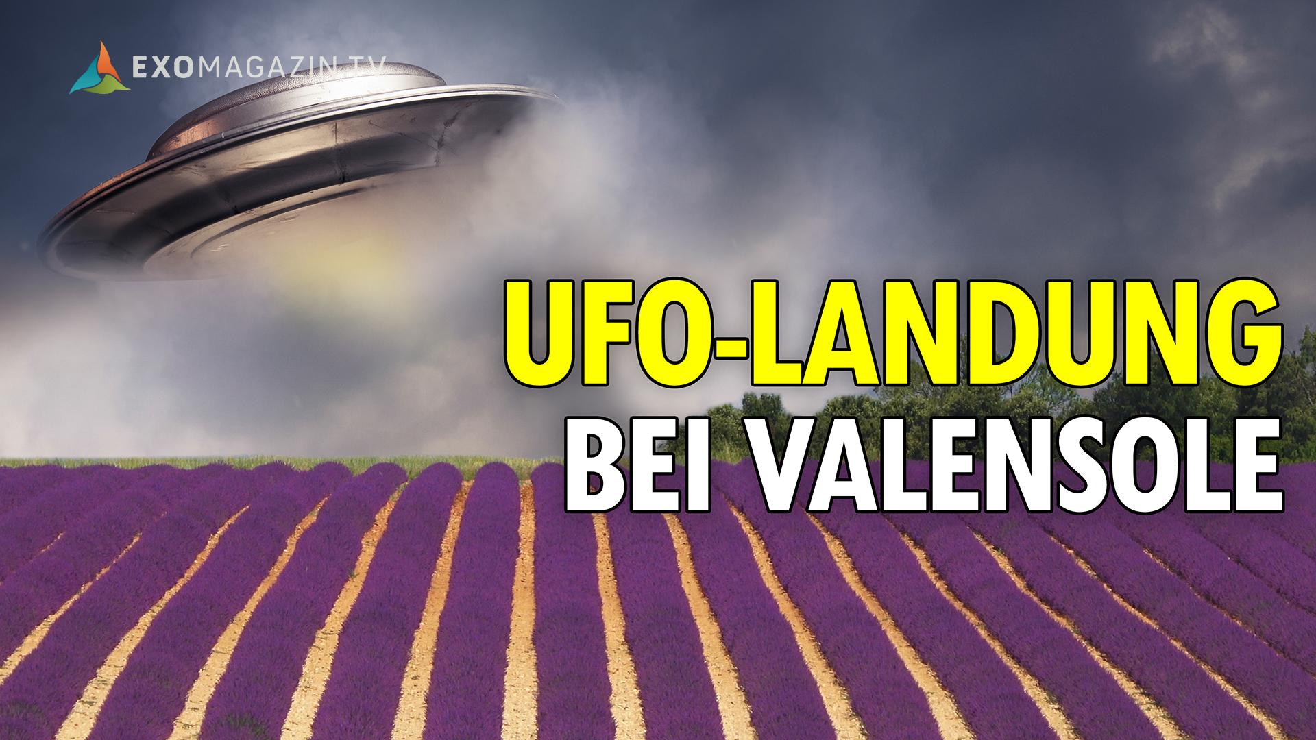 Filmpremiere: Die UFO-Landung von Valensole - Exomagazin tv
