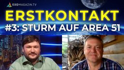 Sturm auf Area 51 - Militär im All - UFOs auf Radar - Erstkontakt #3