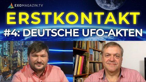 Deutsche UFO-Akten - Disclosure in den USA - UFO-Strahlungsschäden - Erstkontakt#4
