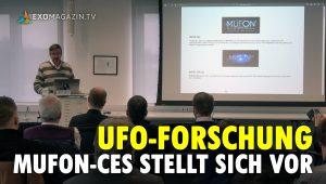 Jörg Kiefer - MUFON-CES stellt sich vor
