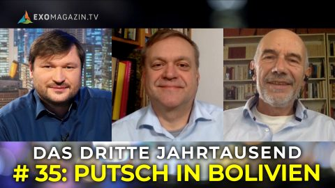 Putsch in Bolivien - Wende in Brasilien - Jeffrey Epstein - Das 3. Jahrtausend #35
