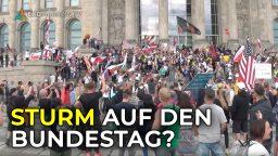 Sturm auf den Bundestag